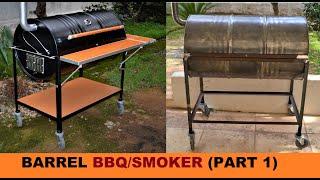 Video HOW TO BUILD A BARREL BBQ/SMOKER (PART 1) MP3, 3GP, MP4, WEBM, AVI, FLV Februari 2019