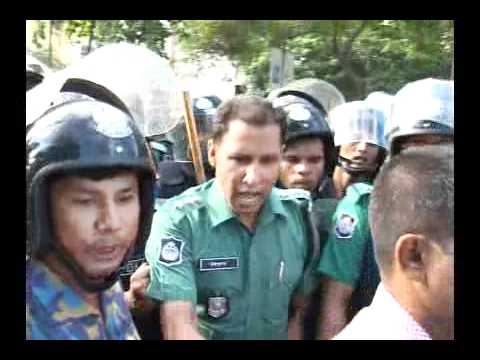 Bangladesh strike: Police assault Opposition chief whip