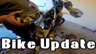 10. Bike Update   Tearing Down a 2012 KX450F