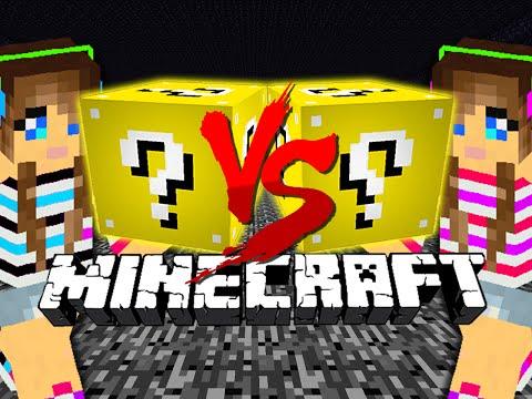 Minecraft: LUCKY BLOCK CHALLENGE | GIRLFRIENDS