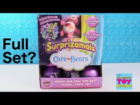 Surprizamals Care Bears Full Set Toy Review Unboxing Blind Bag | PSToyReviews