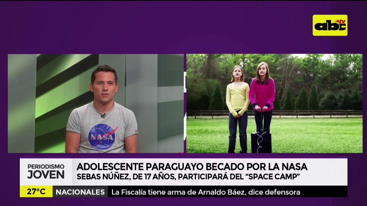 Adolescente paraguayo becado por la NASA