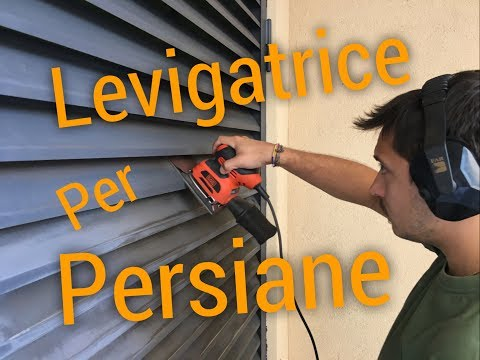 Levigatrice Orbitale per Persiane Black and Decker KA401