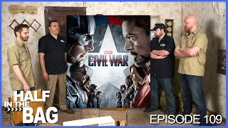 Video Half in the Bag Episode 109: Captain America: Civil War MP3, 3GP, MP4, WEBM, AVI, FLV April 2018