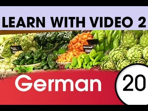 Learn German with Video – Don't Shop in German Without These Words