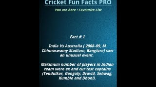 Cricket Fun Facts YouTube video