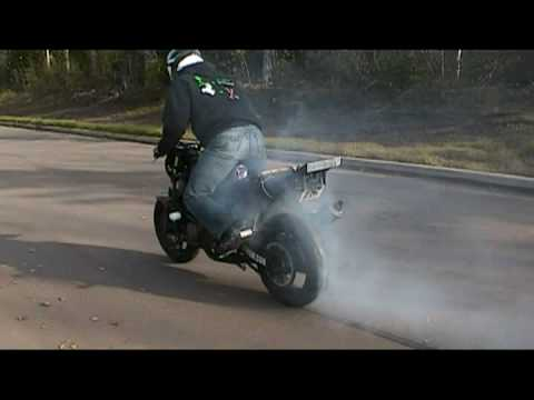 Long Rolling Burnout until tire bust