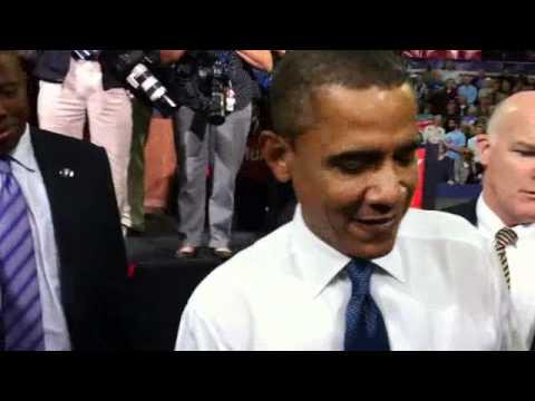 Señor presidente, firme mi iPad