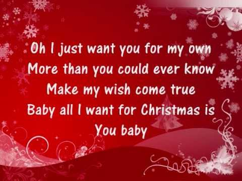 Video Mariah Carey - All I Want For Christmas Is You - Lyrics download in MP3, 3GP, MP4, WEBM, AVI, FLV January 2017