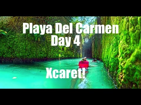 A Day At Xcaret! Underground Rivers, Snorkeling and More! Playa Del Carmen Day 4