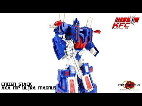 video review - Video Review of the Keith's Fantasy Club: Citizen Stack (aka MP Ultra Magnus) GET YOURS HERE AT BIG BAD TOY STORE!! http://www.bigbadtoystore.com/bbts/product.aspx?product=KFC10027&mode=retail&ut...