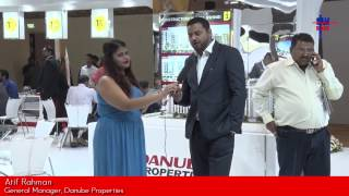 Mr. Atif Rahman, General Manager, Danube Properties, talks about  Indian Real Estate Sector, Danube Properties upcoming projects and schemes at the Times Property Expo, Property Investment & Homebuyer Show, 2016 – with 9 AM Stories