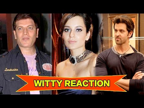 Aditya Pancholi's WITTY REACTION On Kangana Rana