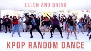 Video KPOP Random Play Dance in Los Angeles | Ellen and Brian MP3, 3GP, MP4, WEBM, AVI, FLV November 2018