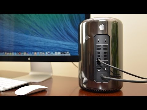 Apple Macbook pro Unboxing - Detailed unboxing and overview of the all-new Mac Pro complete with benchmarks, RAM module removal, and 4K display demonstration. TLDtoday RAM Upgrade Video:...