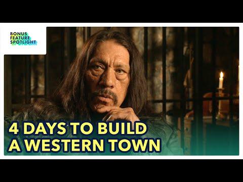 Rebuilding Dead in Tombstone's Western Town in 4 Days | Bonus Feature Spotlight [Blu-ray/DVD]