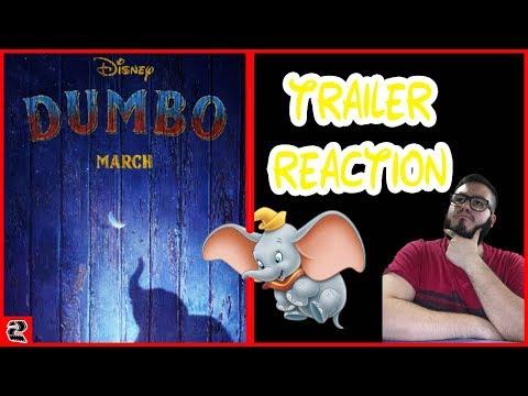 TRAILER DUMBO | VIDEO REACTION | DUMBO LIVE-ACTION | IMPRESIONES | Parkermovies