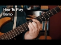 Bambi Prince Guitar Tutorial