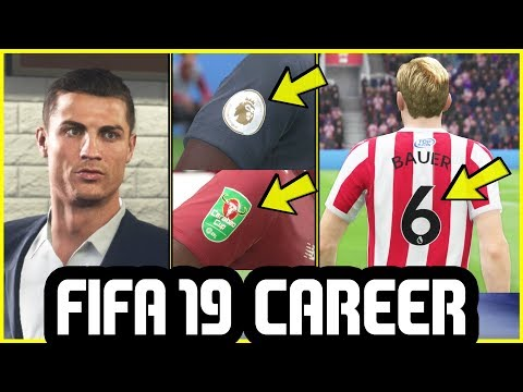 FIFA 19 CAREER MODE - NEW FEATURES I Haven't Shown Before #4