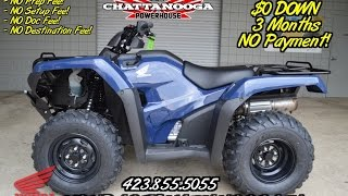 8. 2016 Honda Rancher 420 AT / DCT Review of Specs & Features - TRX420FA1 Sale at Honda of Chattanooga