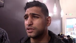 Amir Khan on Charity Work and Possible Opponents