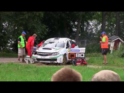 RollOver and Crash, Neste Oil Rally Finland 2010 EK6 Lankamaa