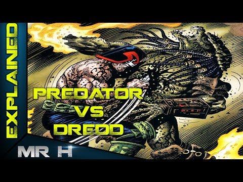 The Predator VS Judge Dredd - Complete Story Explained