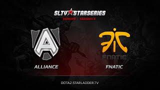 Alliance vs Fnatic, game 1