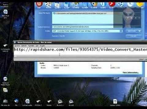 Como funciona el  Video Convert Master