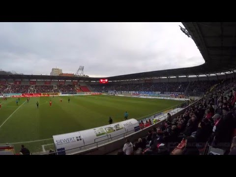 Video: Derbysiegtor durch Sebastian Ernst HFC - 1. FCM 24.01.2016 (HD Jan.2016)