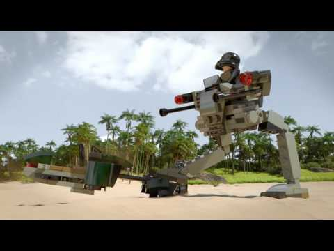 Конструктор Боевой набор Империи - LEGO STAR WARS - фото № 9