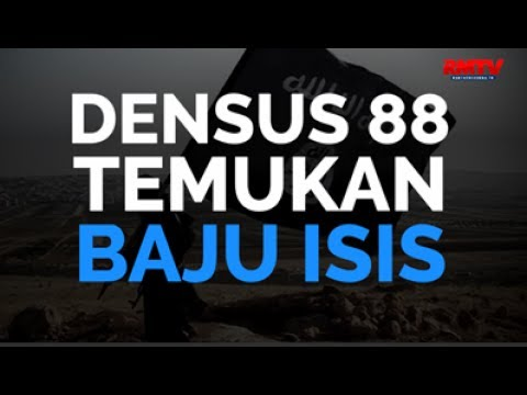 Densus 88 Temukan Baju ISIS