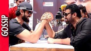 Rana And Prabhas Arm Wrestle- Bollywood Gossip 2017
