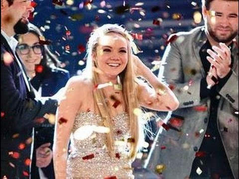 "DANIELLE BRADBERY WINS ""THE VOICE"" CHRISTINA & PITBULL PERFORM ""FEEL THIS MOMENT""!- VOICE CAP"