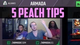 Video Armada's 5 Tips for Peach Players - SSBM MP3, 3GP, MP4, WEBM, AVI, FLV November 2017