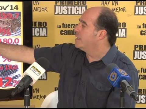 Julio Borges: De acuerdo a cifras del INE los productos aumentaron hasta 442% en apenas 2 años