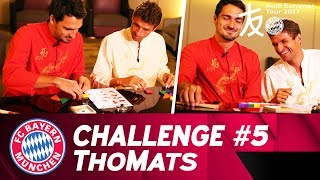 Part five of the #ThoMats Challenge - this time brought to you from China as part of FC Bayern München's Audi Summer Tour 2017! Thomas Müller and Mats Hummel...