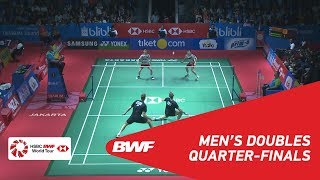 Video MD | GIDEON/SUKAMULJO (INA) [1] vs CONRAD-PETERSEN/KOLDING (DEN) [5] | BWF 2018 MP3, 3GP, MP4, WEBM, AVI, FLV November 2018