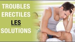 Troubles érectiles : Des Solutions Existent !