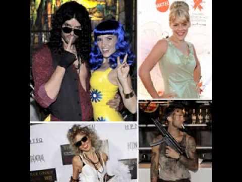 Celebrity fancy dress couples
