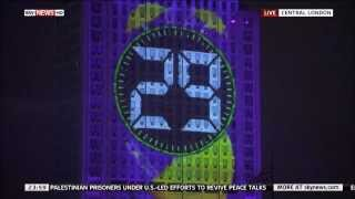 Sky News HD UK - Live In London Countdown To The New Year 2014