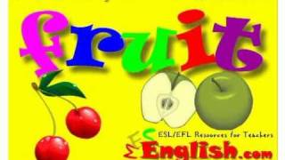 Fruit Vocabulary - English Vocabulary Lessons
