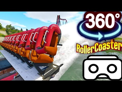 🔴 360 VR Coaster Simulator For Google Cardboard VR BOX 360 Virtual Reality 4K