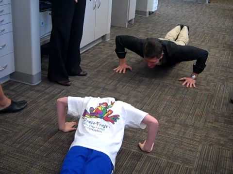 Push Up Challenge at Stone Oak Orthodontics!