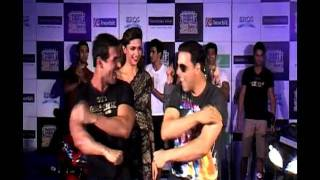 John, Deepika, Akshay & Chitrangda promote 'Desi Boyz'