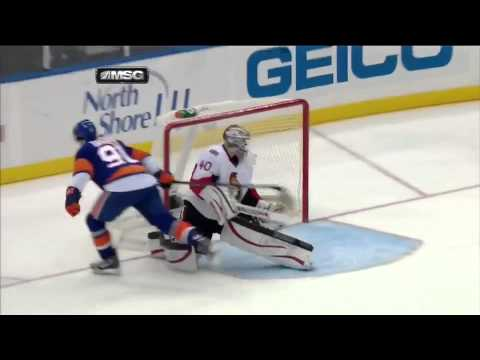 John Tavares AMAZING Shootout Goal Against Ottawa (March 3, 2013) - YouTube