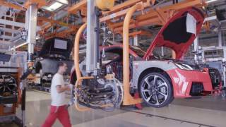 Gyor Hungary  city images : 2016 Audi TT RS production at the Gyor factory in Hungary