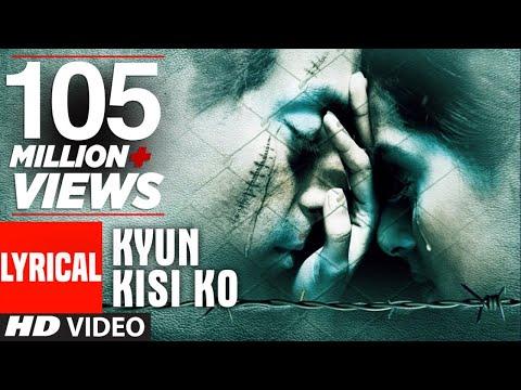 Video Kyun Kisi Ko Lyrical Video | Tere Naam | Udit Narayan | Salman Khan, Bhumika Chawla download in MP3, 3GP, MP4, WEBM, AVI, FLV January 2017