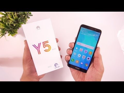 Huawei Y5 Prime 2018 Unboxing & Quick Review  [Urdu/Hindi]