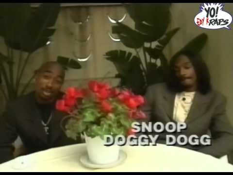 2Pac & Snoop Doggy Dogg – @ Yo MTV Raps 1995 (HQ)